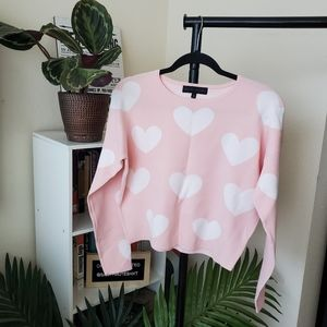 English Factory Queen of Hearts Sweater